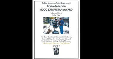 Rolling Meadows has decided to showcase residents that do good for others and it's taking nominations now.