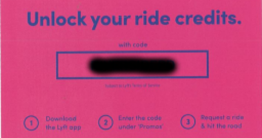 Riverside/Lyft discount coupon