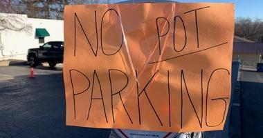 Pot Parking Spaces