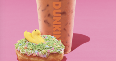 Dunkin' Donuts new spring flavor, PEEPS