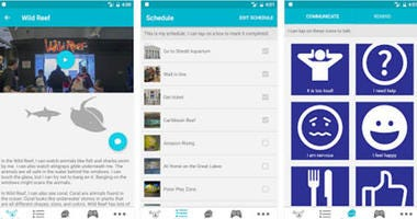 Shedd Aquarium Sensory Friendly App