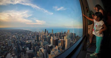 Barry Butler's photograph from Willis Tower Skydeck