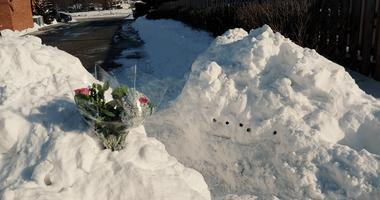 snow fort collapse