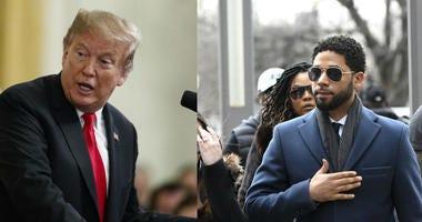 President Trump, Jussie Smollett