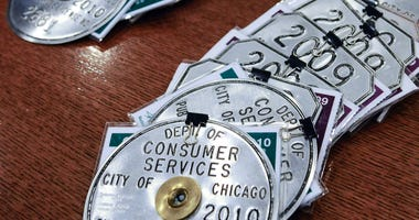 Chicago taxi medallion
