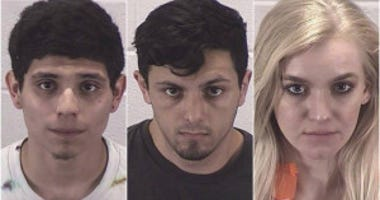 Pictured (left to right) are Joshua Martinez, Guadalupe Magana and Natalie Erickson.