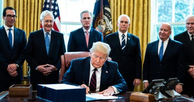 Trump Signs COVID 19 Aid Bill