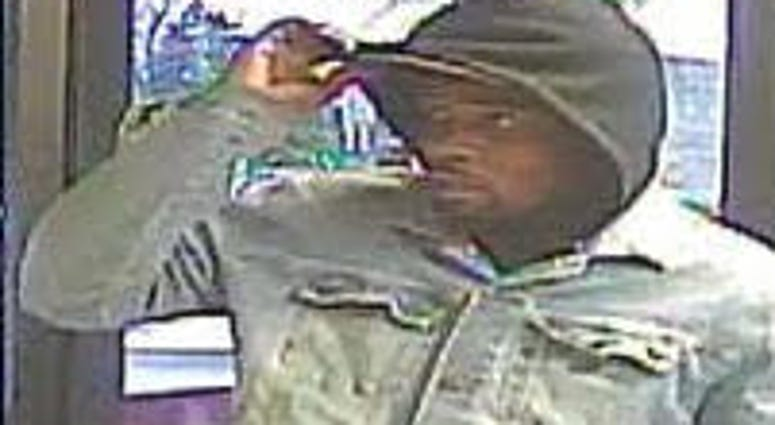 Police say this man robbed a First Midwest Bank branch in Waukegan on Nov. 14, 2019.