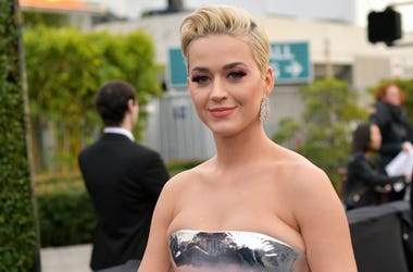 Katy Perry attends the 61st Annual GRAMMY Awards at Staples Center