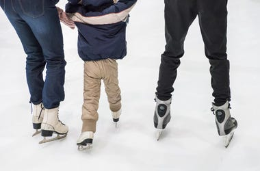 ice skate rink skates