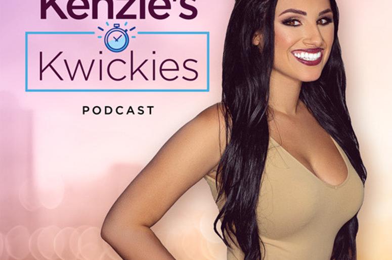 Kenzies Kwickies Podcast Logo