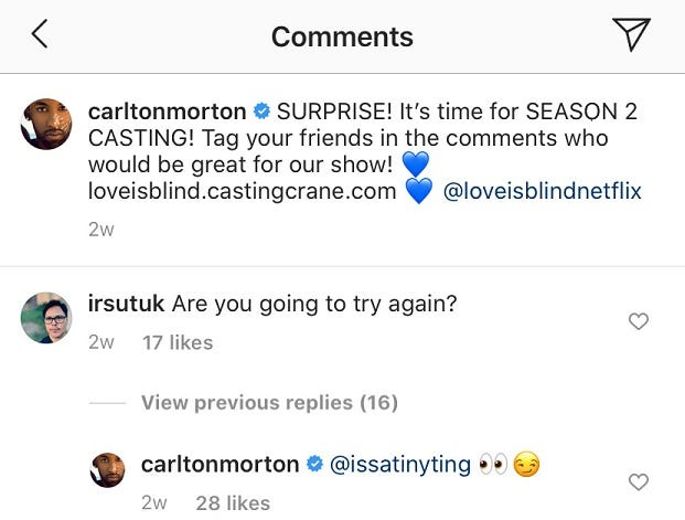 @CarltonMorton Instagram