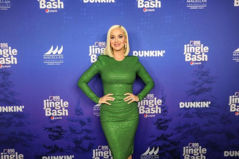 Katy Perry at Jingle Bash