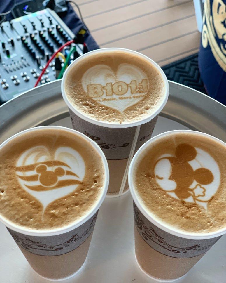 Disney & B101 Coffee