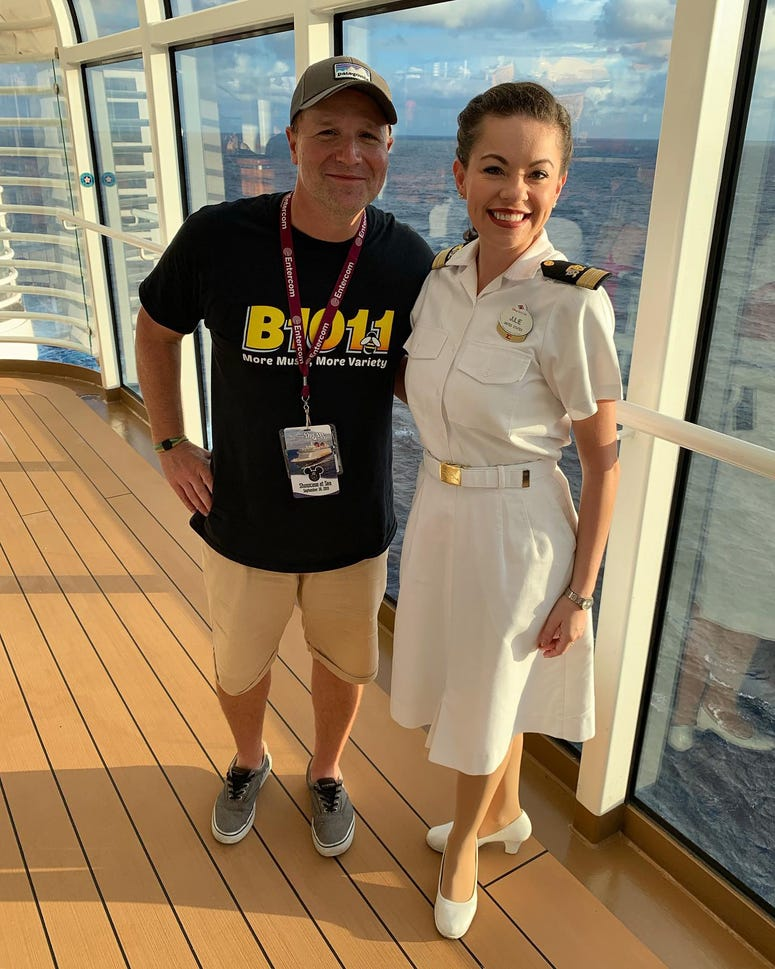 Bill with Emily Ruiz, Character Manager