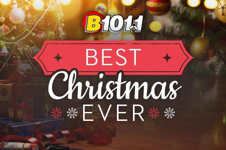 B101 Best Christmas Ever