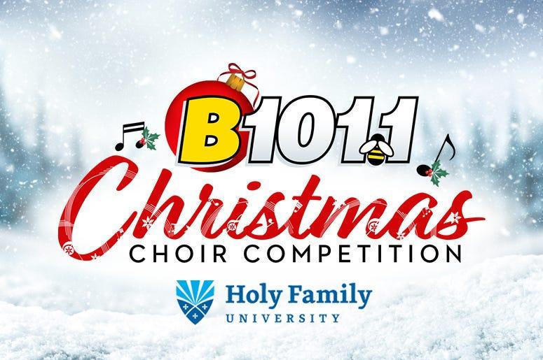 B101 Christmas Choir Competition 2020 B101.1's Christmas Choir Competition 2020 | B101.1
