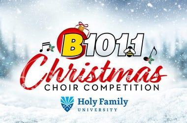 B101 Christmas Choir Competition 2020 2020 Christmas Choir Competition | B101.1