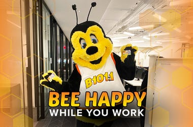 B101 Philly Bee Happy While You Work