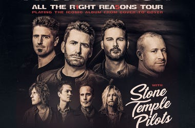 Nickelback  15th Anniversary of All the Right Reasons Support: Stone Temple Pilots July 19, 2020 BB&T Pavilion