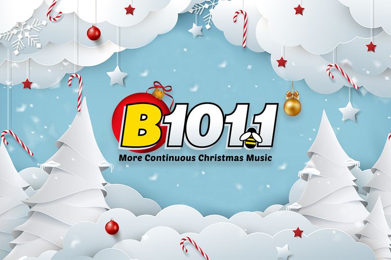 We've Flipped! Christmas Music is Now Playing on Philly's B101.1