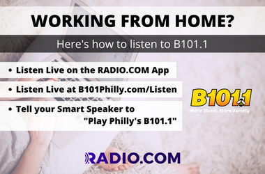 Listen to Philly's B101.1 Anywhere!