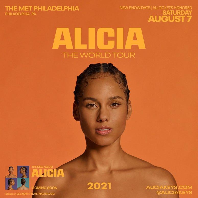 Alicia Keys World Tour
