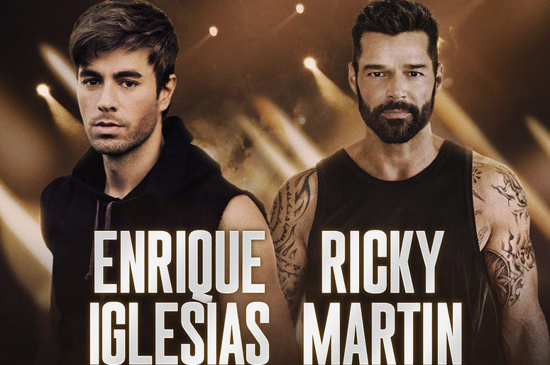 SeeEnrique Iglesias & Ricky Martin with Sebastian Yatra at the Wells Fargo Center on October 14, 2020!