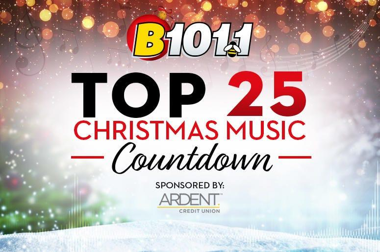 Top 25 Christmas Music Countdown