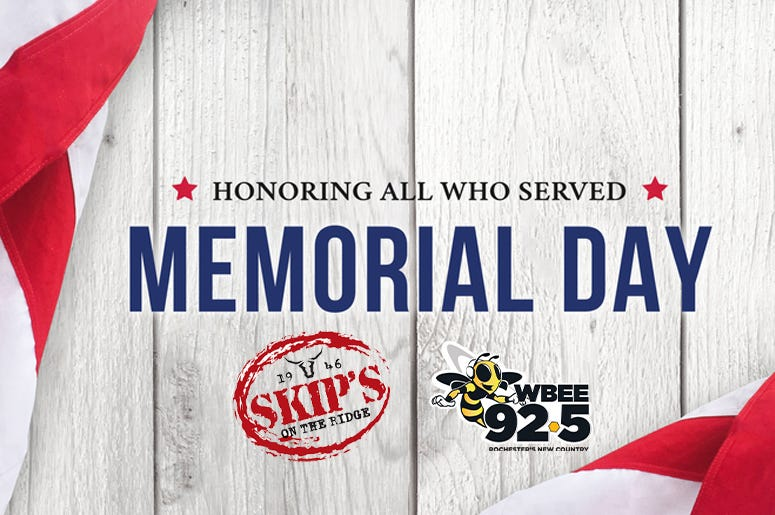 memorial day skips