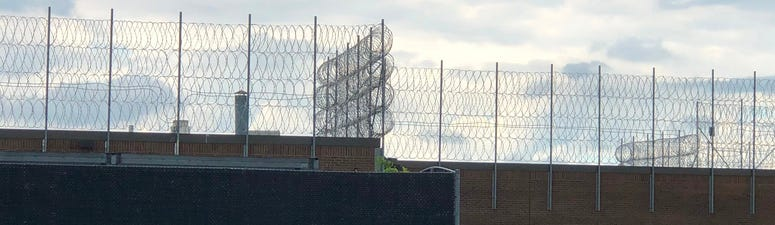 Alden Correctional Facility. July 13, 2020 (WBEN Photo/Mike Baggerman)