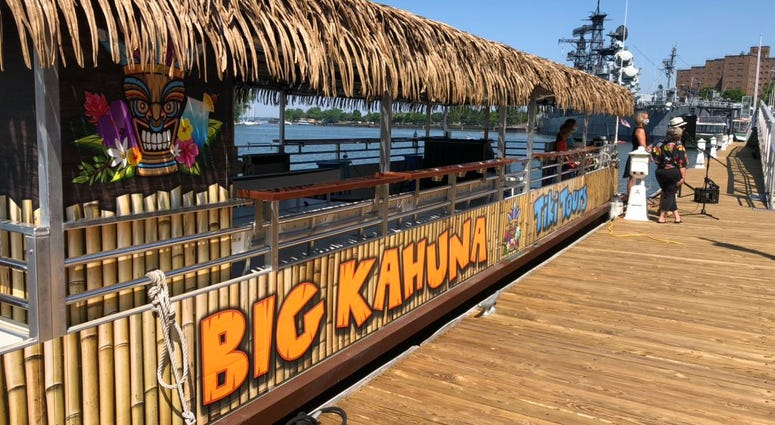 Big Kahuna is Buffalo's newest waterfront attraction. July 9, 2020 (WBEN Photo/Mike Baggerman)