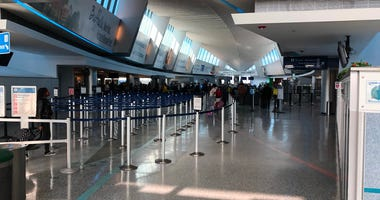 Buffalo Airport. December 20, 2019 (WBEN Photo/Mike Baggerman)