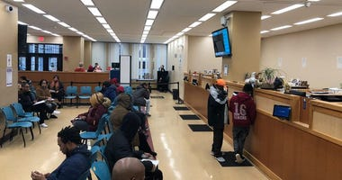 Downtown Auto Bureau. March 12, 2020 (WBEN Photo/Mike Baggerman)