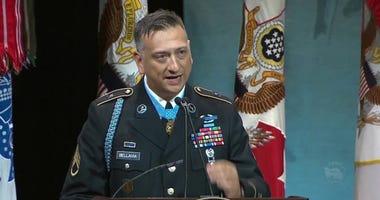 Medal of Honor recipient Staff Sgt. David G. Bellavia