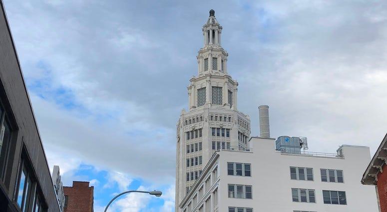 Electric Tower. December 30, 2019 (WBEN Photo/Mike Baggerman)