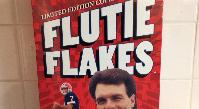 Flutie Flakes. WBEN Photo/Susan Rose