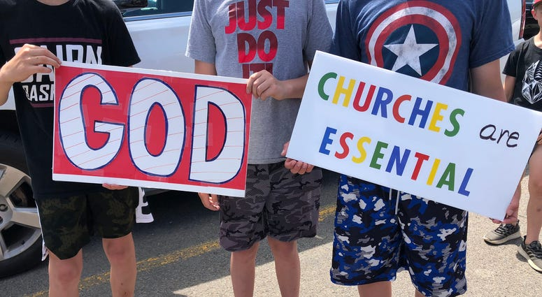 Churches Protest State