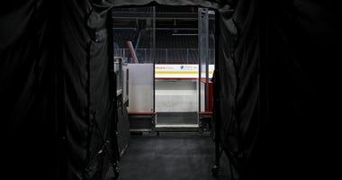 Empy NHL arena