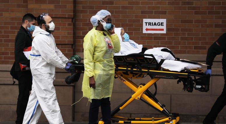 NYS coronavirus deaths