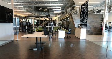 An empty Catalyst Fitness in Amherst. August 6, 2020 (WBEN Photo/Mike Baggerman)