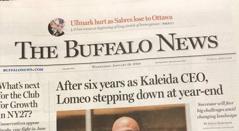 Buffalo News Sold