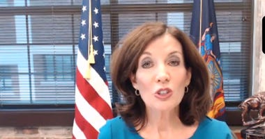 Kathy Hochul announces that the Western New York region will not open on May 15 because it has not met the criteria to reopen yet under the governor's guidelines. May 14, 2020 (Zoom Photo)
