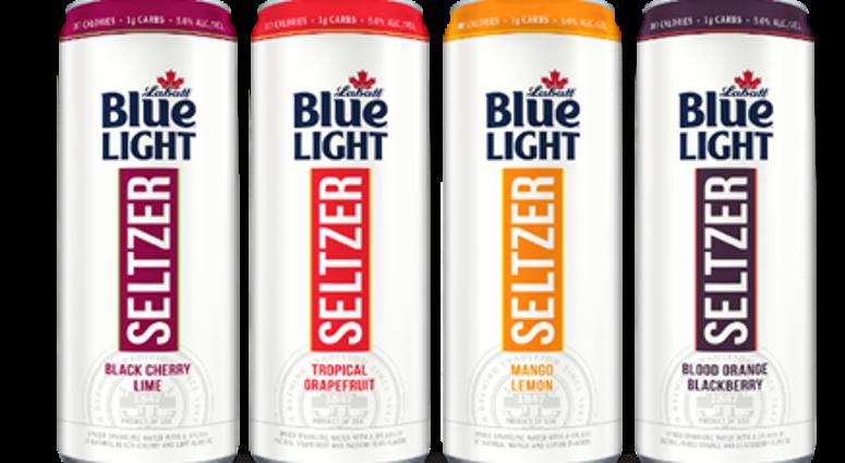 Labatt Blue Light Seltzer To be Test Marketed Locally