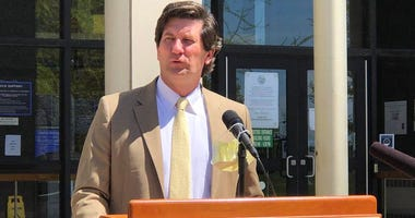 Erie County Executive Mark Poloncarz gives an update on the COVID-19 pandemic. May 20, 2020 (WBEN Photo/Mike Baggerman)