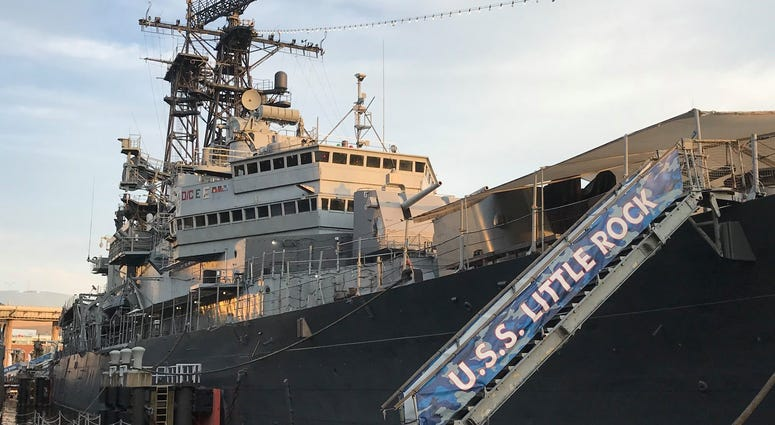 USS Little Rock Battleship at Buffalo and Erie County Naval Park