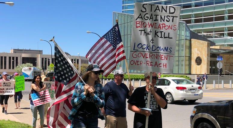 Niagara Square Protest
