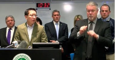 Monroe County news briefing with Health Commissioner Dr Michael Mendoza