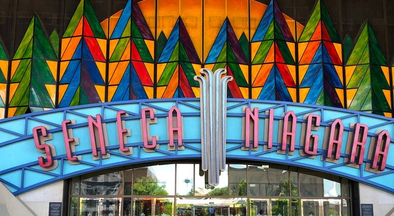 Seneca Niagara Casino. July 1, 2020 (WBEN Photo/Mike Baggerman)