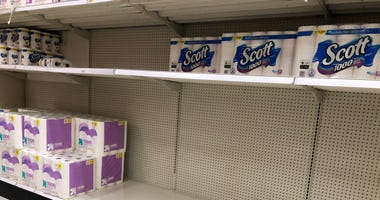 Toilet Paper section at Buffalo area stores